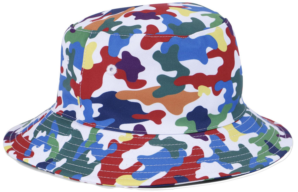 Yporque Camo Bucket Hat Accessories Yporque