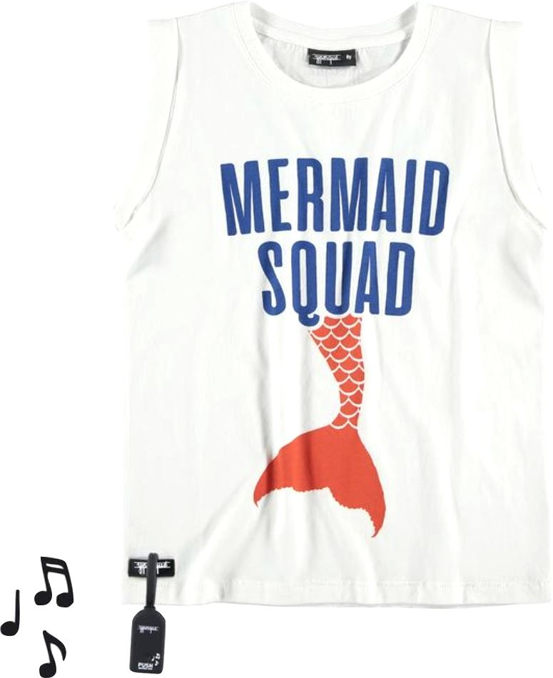 Yporque Mermaid Squad Tee Tops Yporque