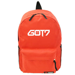 GOT7  New Fashion Backpack Cosmetic Bags