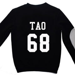 EXO  Sweatshirts shirt Long Sleeve O Neck Women Men Exo Pullovers