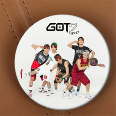 GOT7 Fly I Laugh Let's Dance Album Brooch K-POP Pin Badge