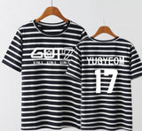Got7 Style short sleeves Couple T shirt
