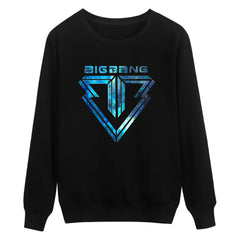 Bigbang Warm Sweatshirt Mens Hoodie And Plus Size Pullover