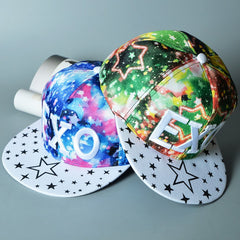 EXO Spring and Summer Fashion Tide Peaked Cap Baseball