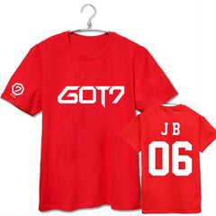 Got7 Tshirt Men Women Cotton