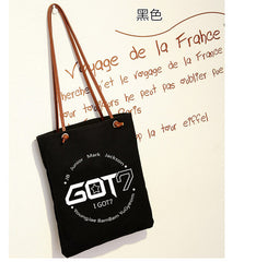 BTS Korean shoulder bag k-pop SJ canvas bags