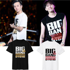 BIGBANG G DRAGON   Portrait Short Sleeve Tshirt