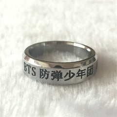 BTS  Name Wings Ring  Accessories