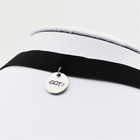 GOT7 FLY Album Chokers Necklace K-POP Jewelry Accessories Rock Collar