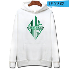 Bigbang Sweatshirt With Cap And Plus Size Warm And Cool Hooded Pullover