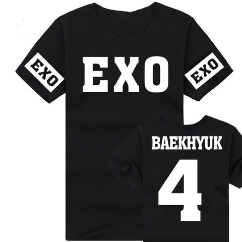 EXO T-shirt  Fashion Funny