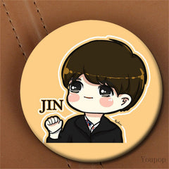 BTS  Styles Cartoon Brooch Pins