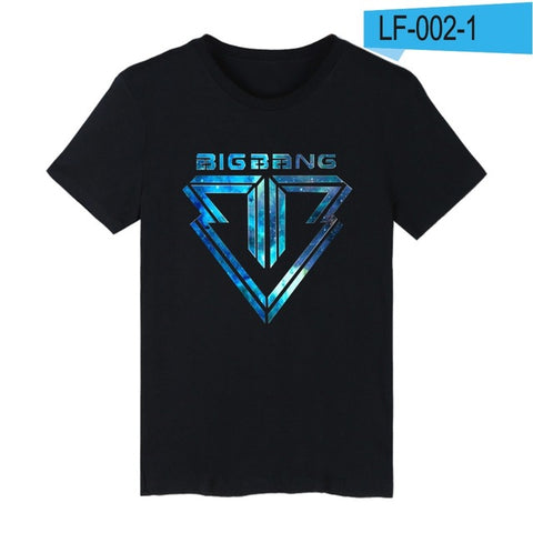Bigbang Print Summer Short Sleeve T-shirt