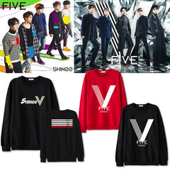 SHINEE group FIVE  Suit long sleeve hoody Outerwears