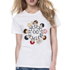 EXO T-shirts Printed Top