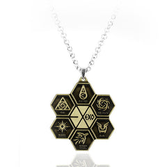 EXO Necklace Jewelry Collares for fans