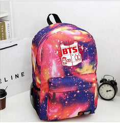 BTS bulletproof Cadet Corps Students canvas shoulder back mountaineering tourism