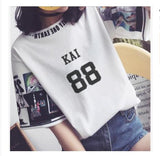EXO Loose Short-Sleeved For Summer