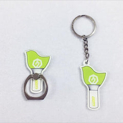 GOT7   Bird Light Stick Key Chain Acrylic Cartoon Key chain