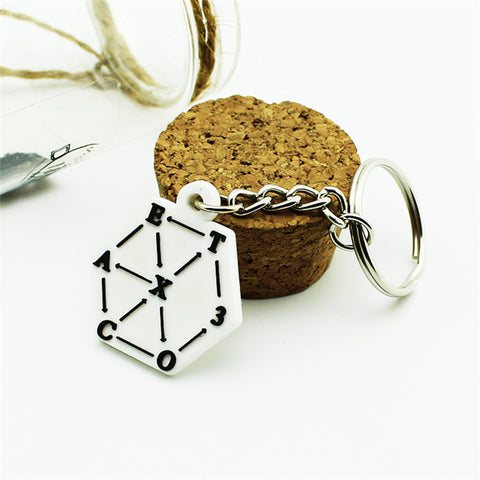 EXO Key Chain K-pop  Key Ring Pendant Keyring Keychain