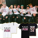 BTS Cotton Summer Short Sleeves T shirt