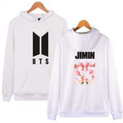 BTS  Sweatshirt Suit The Autumn long sleeve hoody Outerwears with Hat