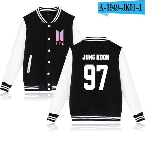 BTS Jackets Hoodies  Sweatshirt  Baseball Jackets