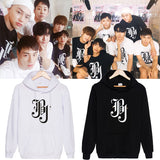 JBJ The New Album Same style Sweatershirt Plus Cashmere Long Sleeve Hoody