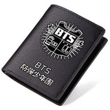 BTS  PU Leather Long Wallet  Short Wallet Fashion Purse