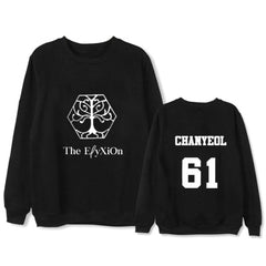 EXO Concert Sweatershirt Loose Long-Sleeved Hoodie Round Neck
