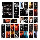 EXO  photo cards LOMO 30 small card bts merchandisebts lyrics
