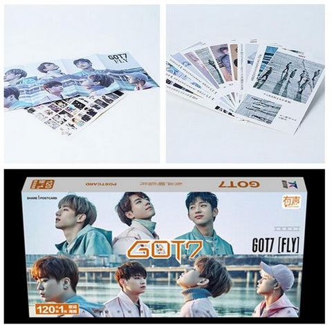 GOT7 Set 121 Section  Album Lyrics