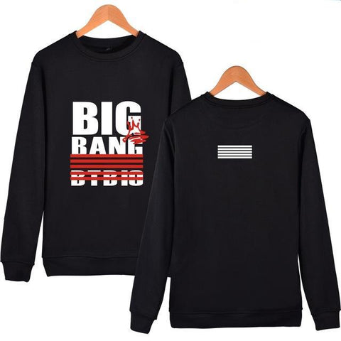 Bigbang Hoodies Sweatshirts Brand Black Letter Prited