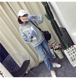 BTS Moletom Korean Popluar  Sweatshirt Casual Clothes