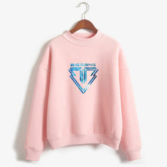 Bigbang Capless Sweatshirt Girls Candy Color