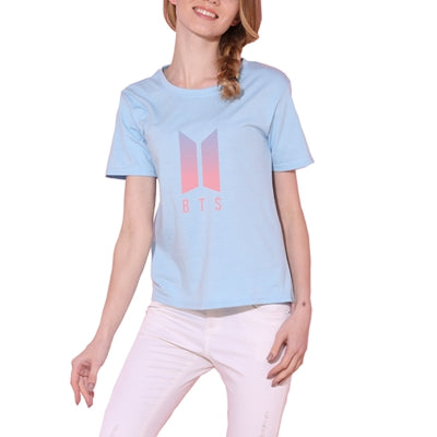 Casual T-shirt  BTS  Style Cotton Clothing  Tops O-neck Casual
