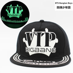 Bigbang Summer  Fluorescent Luminous Hat Cap