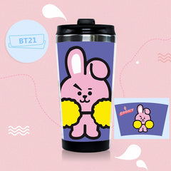 BTS Style Bottle Drinkware Stainless Steel