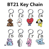 BTS  Key chain  Key Ring Pendant