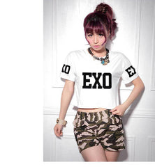 EXO  T-shirt short Section