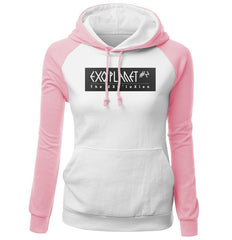 EXO Kpop Clothing Women's Sportswear Kawaii Sweatshirt