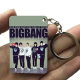 BIGBANG series Print Keychain And Bag