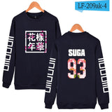 BTS Kpop Capless Hoodies And Sweatshirt For Couples Fashion Hip Hop Korea Popular Bangtan Long Hoodies Women Casual Fans Clothes