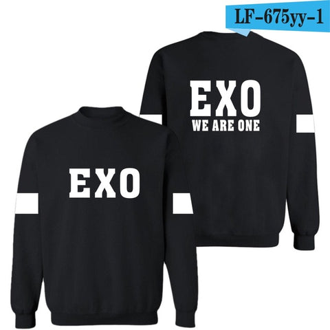 EXO Sweatshirt Pullover Women Cotton Fashion