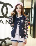 EXO Baseball Jacket Hooded Long Sleeve