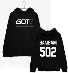 GOT7 Women Hoodies Clothing Pullovers Fashion Baseball J