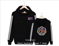 GOT7  hooded fleece han edition