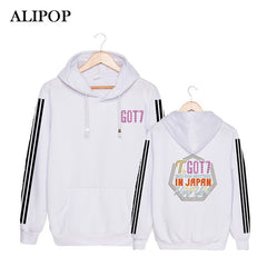 GOT7 FAN Meeting In JAPAN Cotton Hoodies With Hat