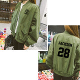 GOT7 Jacket Casual Baseball Suit Women