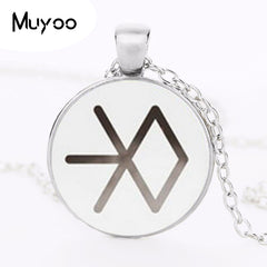 EXO Necklace Star EXO Pendant Fans Gifts Glass Photo